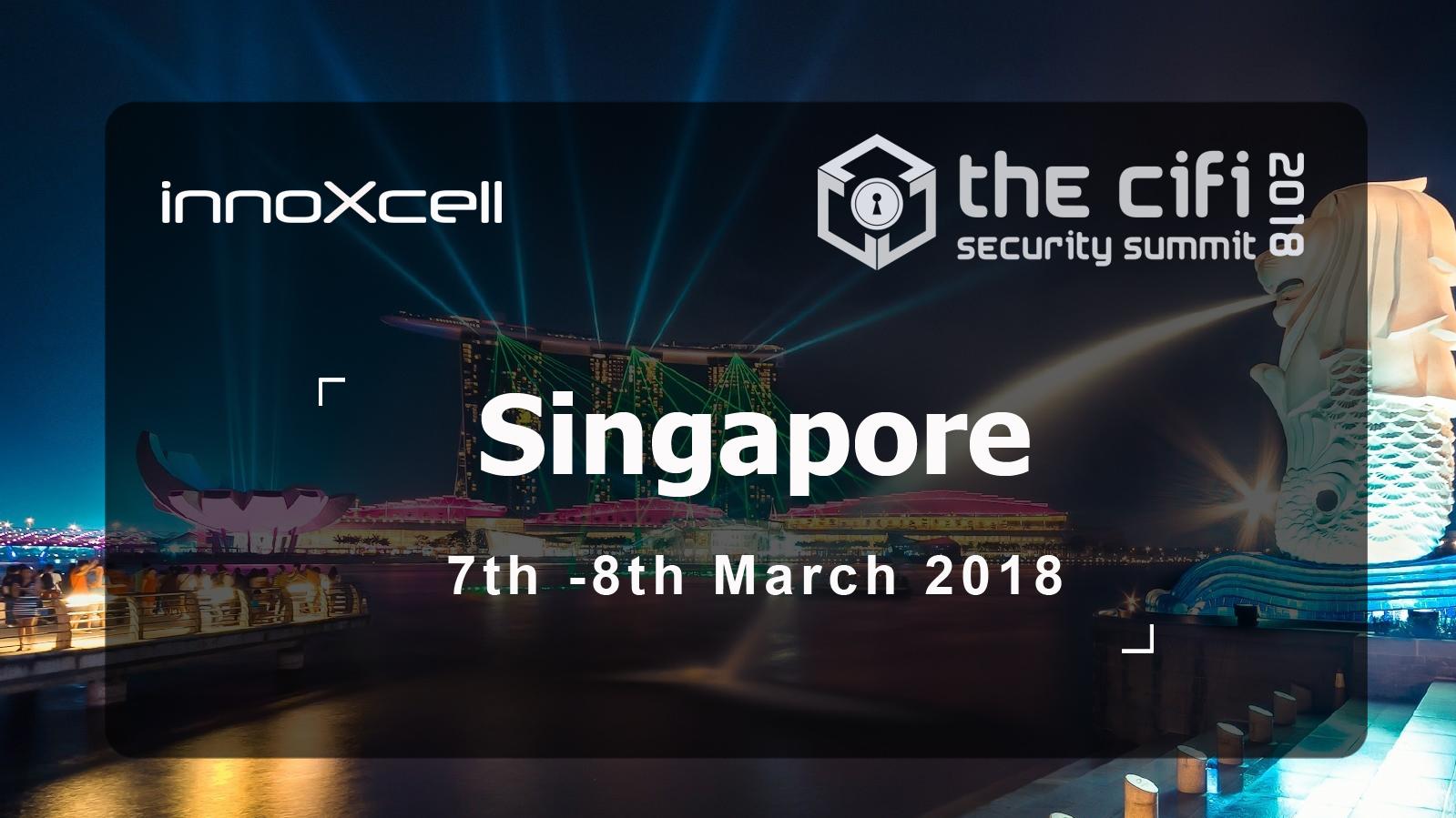 The CiFi Asia – Singapore 2018