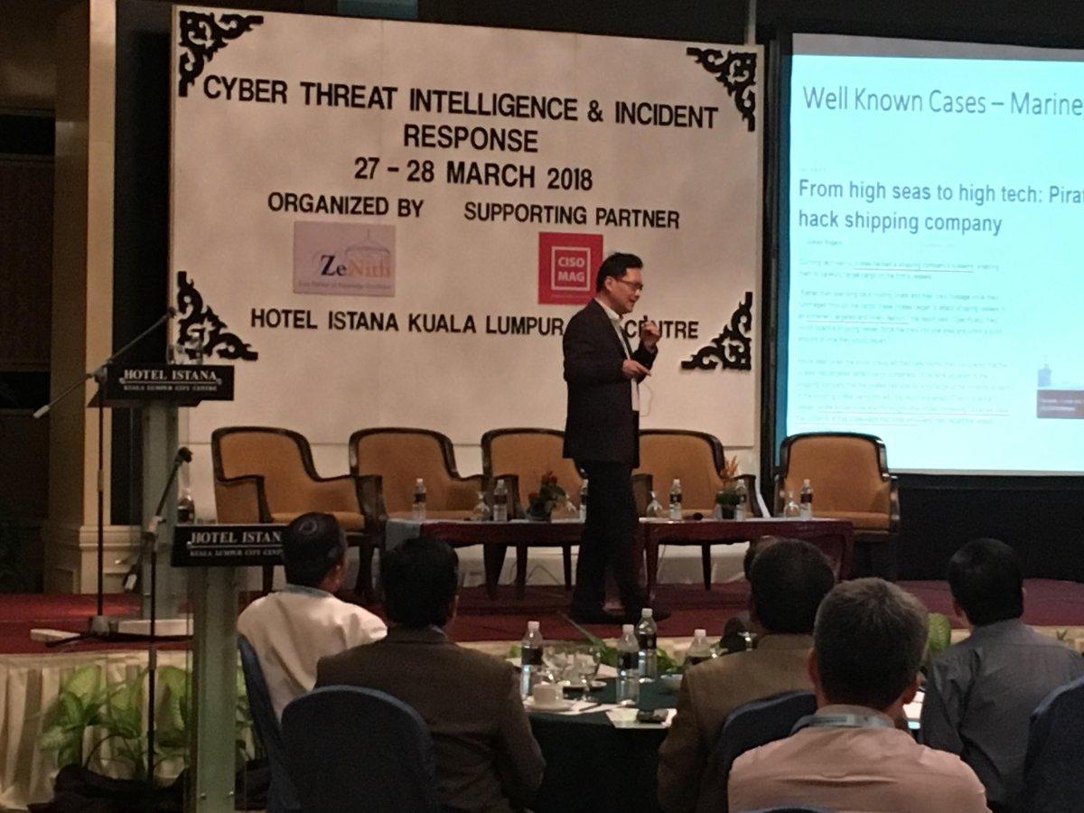 Cyber Threat Intelligence & Incident Response 2018