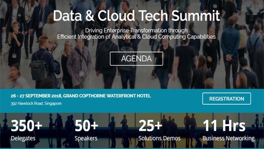 Data & Cloud Tech Summit 2018